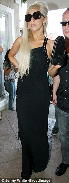 Is that really you? Gaga has gone all elegant in recent days and has been seen in a couple of glamorous outfits