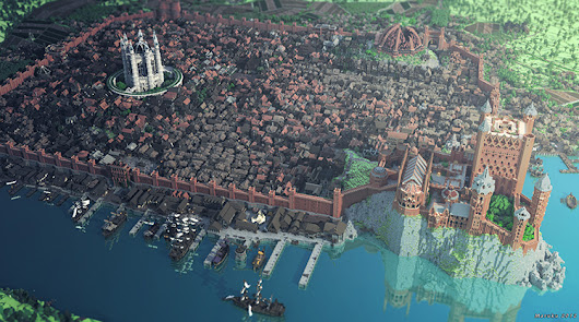 A Video Tour of WesterosCraft, The 'Minecraft' World Where 'Game of Thrones' Fans Remake the Continent of Westeros