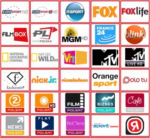 polska canal+ TVP filmbox vlc kodi iptv channels m3u links