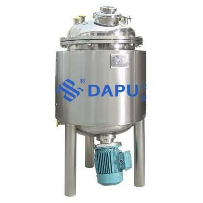 Magnetic material mixing tank