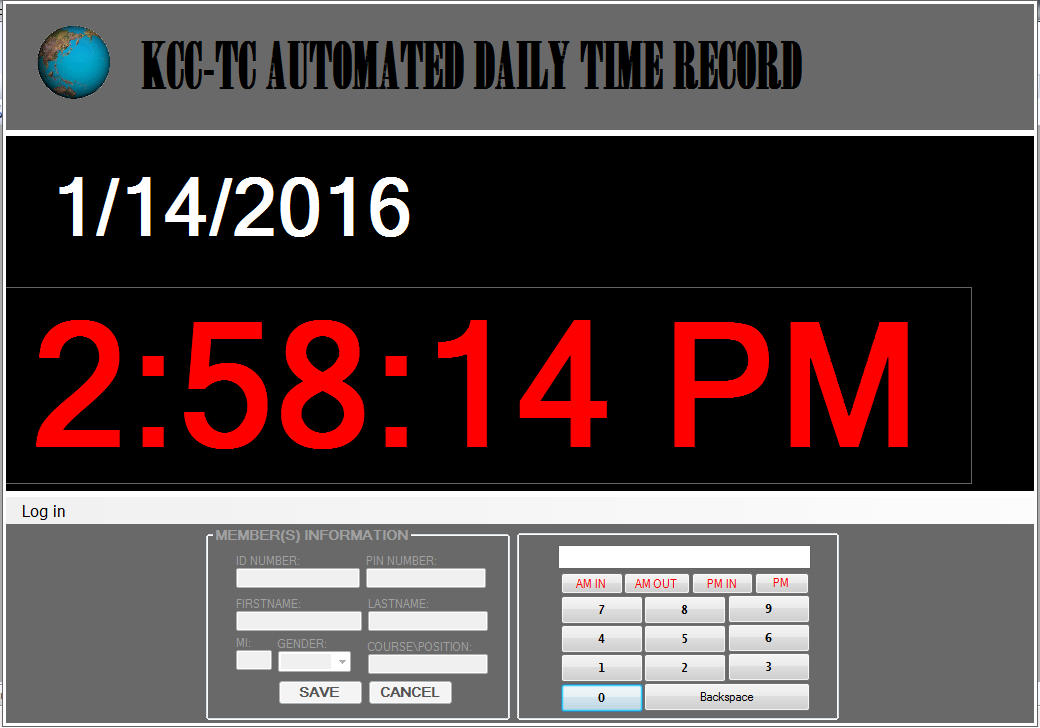 Automated Daily Time Record Monitoring System Using VB.net and MS ...