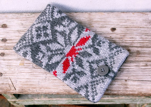 iPhone 6 Plus case Christmas gift Knitted phone sleeve cases