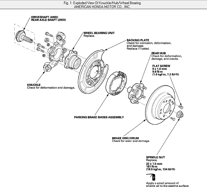 Bearing Assembly Diagram