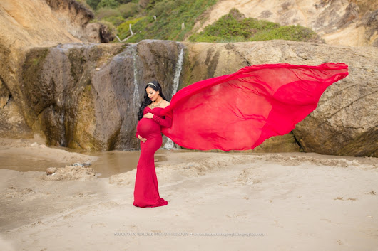 Oregon Maternity Photographer | Kristy's Beach Maternity Session