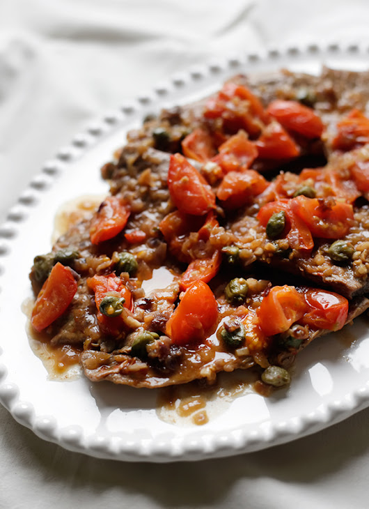 Pizzaiola with Capers - Palachinka