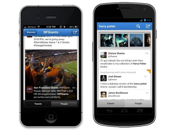 Twitter brings content preview cards to Android and iPhone, lets us email tweets from the web