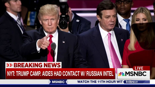 Trump aides had repeated contact with Russian intel