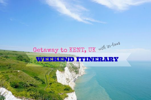 Things to do on a weekend trip to Kent with in-laws