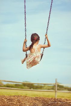 A swing is a beautiful thing.