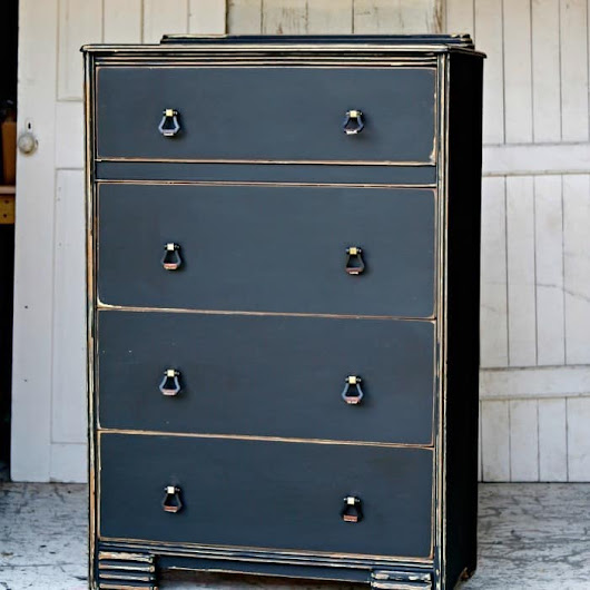 Pretty Black Paint Colors For Furniture