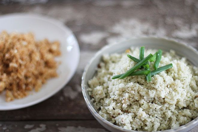 How to Make Simple Cauliflower Rice | Nutrition Stripped