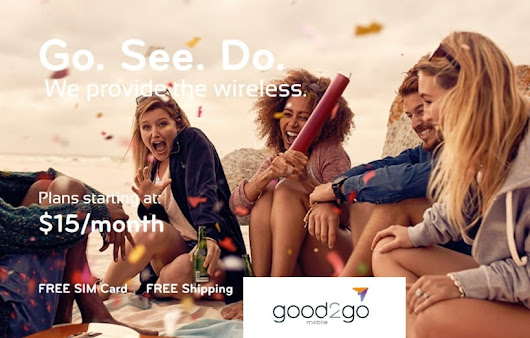 Good2Go Mobile Has New Website With New Plans, Featuring Unlimited Talk, Text, 1GB Data For $15/Month - BestMVNO