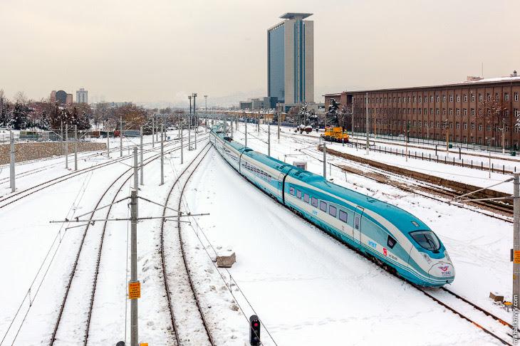 Высокоскоростные железные дороги Турции