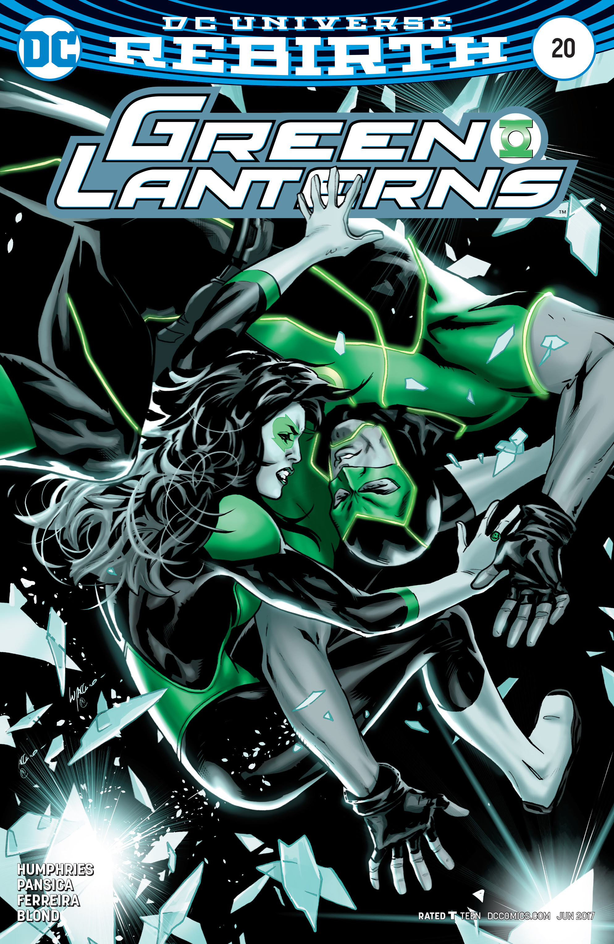 Image result for Green Lanterns #20 humphries