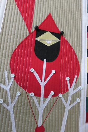 Cardinal close-up