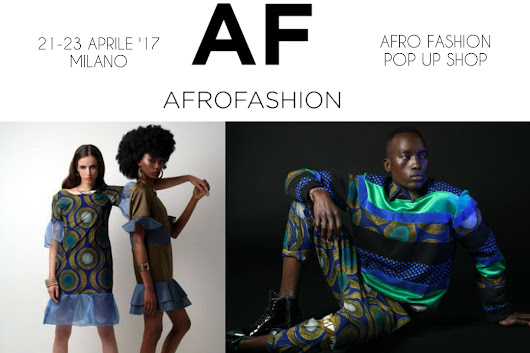 Afro Pop Up Shop a Milano - Afroitalian Souls
