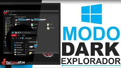 Activar Modo Oscuro Explorador de Archivos Windows 10 October - Trucos Windows 10
