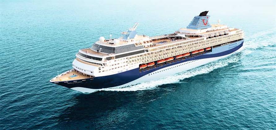 Marella Cruises christens new Marella Explorer in Palma