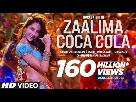 Zaalima Coca Cola Song | Nora Fatehi | Tanishk Bagchi | Shreya Ghoshal | Vayu: