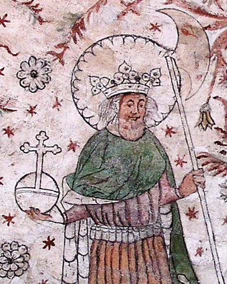 Saint Olav II Haraldsson. Roi de Norvège († 1030)