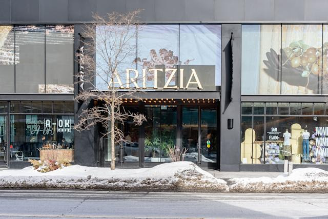 Aritzia sees 'unprecedented' growth in the U.S. as sales surge