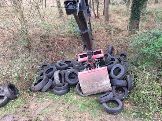 Fly tipping in New Forest | Avon Material Supplies