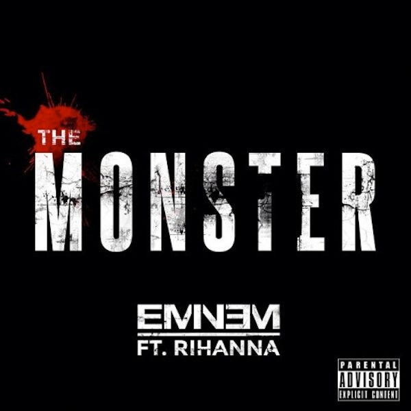Eminem : The Monster (Single Cover) photo eminem-rihanna-monster.jpg