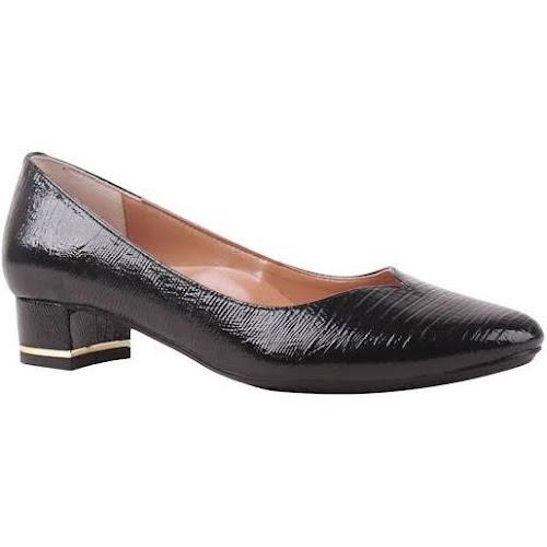072359855b8 J. Renee Women's Bambalina Low Block Heel Pump, Size: 7.5 N, Black ...