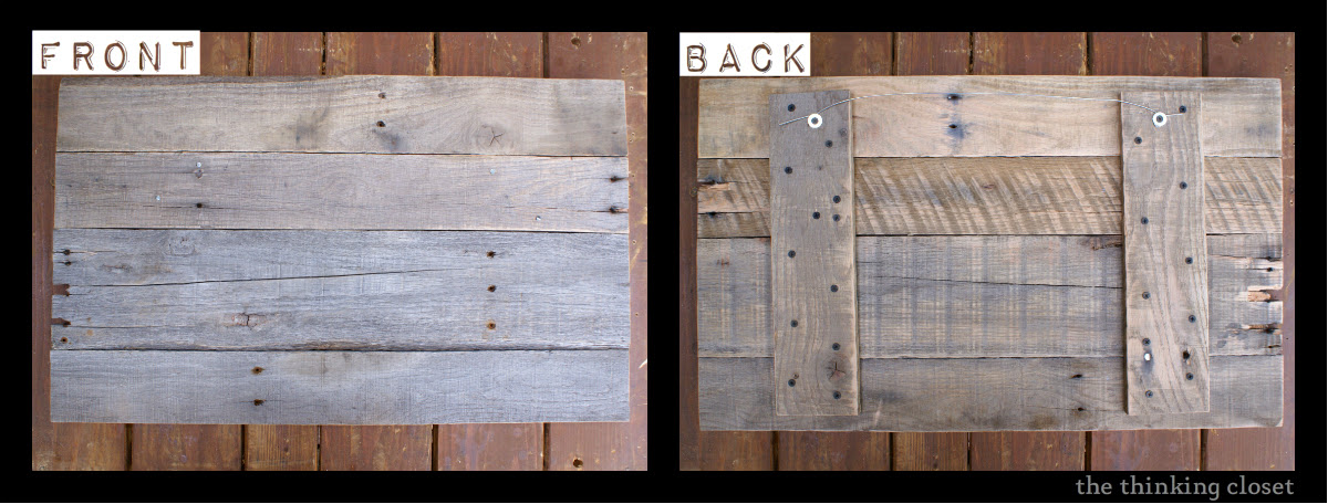 — Sign closet Wood Tutorial sign  wood the thinking make Pallet rustic
