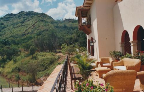 Le balcon de la maison Gaubert.