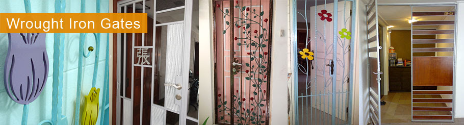Wrought Iron Door Gates