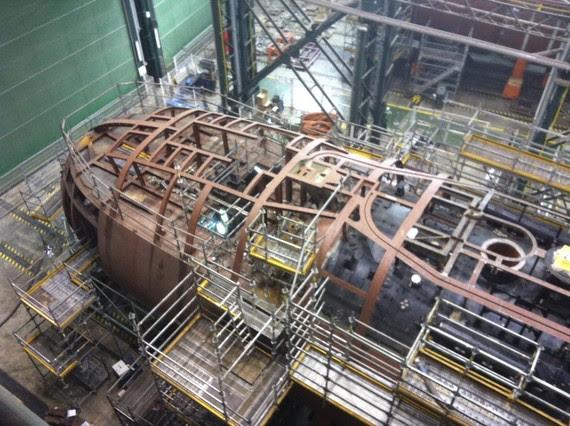 Resultado de imagen de El astillero de Navantia en Cartagena