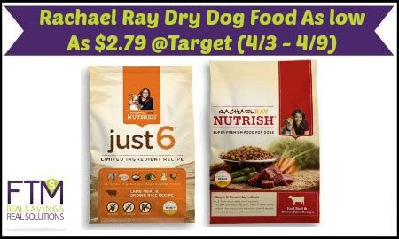 target rachael ray dry dog food deals