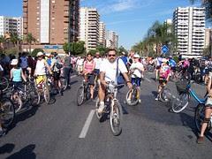 3er día de la Bicicleta en Málaga