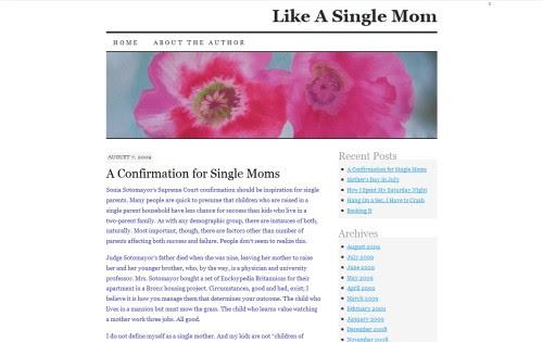 Like A Single Mom