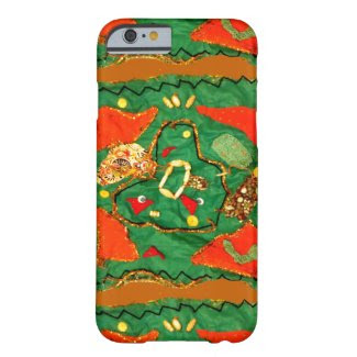 Cloth and Bead Design on iPhone 6/6S Case Barely There iPhone 6 Case