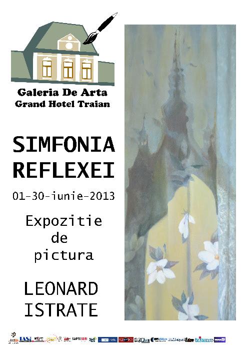 "Expo Iistrate Leonard Expoziția ""Simfonia Reflexiei"" a artistului Leonard Istrate"