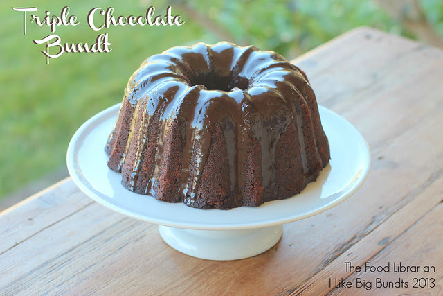 Triple Chocolate Bundt - I Like Big Bundts 2013 - Day 11