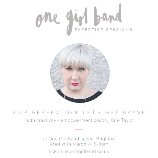 OGB Expertise Session with Kate Taylor // Wed 29th March, 6-8pm