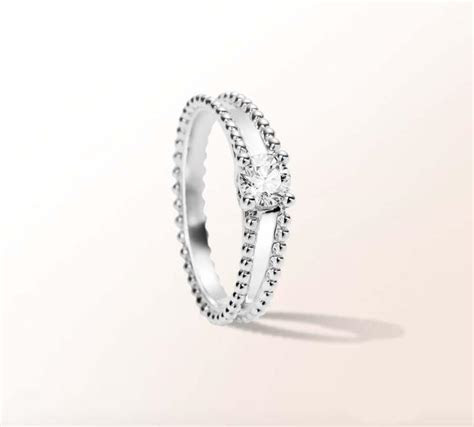 Van Cleef & Arpels jewellery Estelle diamond engagement ring