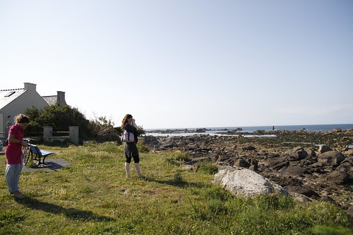 Taking in the view of Brignogan