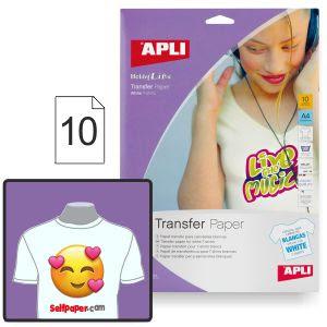 Imprimir camisetas prendas blancas - Papel transfer