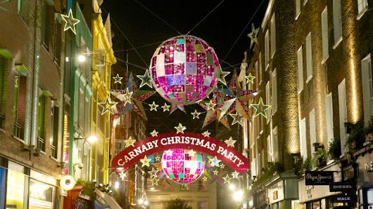 Carnaby Christmas Lights - Things to Do -