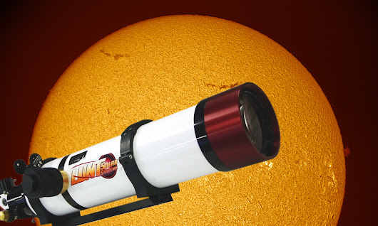 How to Tune a Lunt Pressure-Tuned Solar Telescope • PhotographingSpace.com