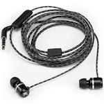 Kicker 46eb94 Microfit Earbuds, Black