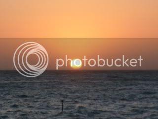 A BEAUTIFUL SUNSET INCOMBE MARTIN ENGLAND, UK