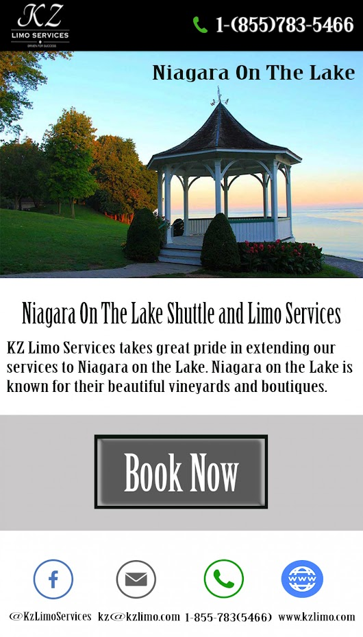 Niagara on The Lake: The Most Popular Name Among The Travelers | Visual.ly
