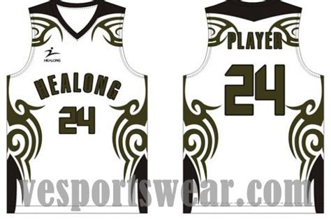 basketball jersey  logo designdyed sublimation