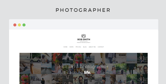 Download Photographer - A Template For Photographers nulled | OXO-NULLED