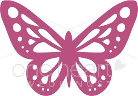 Butterfly Accent Clipart   Wedding Bird and Butterfly Clipart